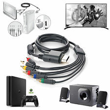Component HDTV (HD) Video & RCA Stereo AV Cable w/ SPDIF Audio Out For Xbox 360