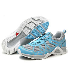 Women Breathable Mesh Lined Running Sport Shoes Outdoor Hiking Camping Sneakers