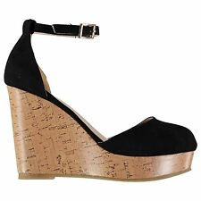 Full Circle Womens Platform Wedge Shoes Sandals Ankle Buckle Strap Summer Casual