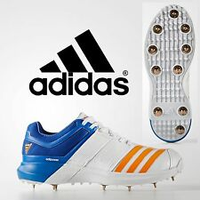adidas adiPower Vector II Cricket Shoes Mens Lightweight Sports Spiked Trainers