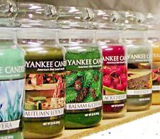 (M-P Scents) Yankee Candle LARGE 22 oz JAR TUMBLER CANDLES New & Retired CHOICES