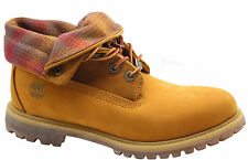 Timberland Earthkeepers EK Auth RT Roll Top Womens Boots Leather Wheat 8561B U4