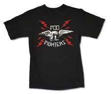 Foo Fighters Eagle Bolts Black T Shirt New Official Adult