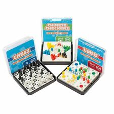 Mini Travel Games Ludo, Chess or Chinese Checkers