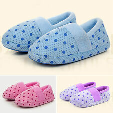 Womens Mens Unisex Soft Indoor Home Shoes Winter Warm VELVET Anti Skid Slippers
