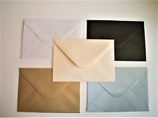 C6 Pearl Shimmer Envelopes (114mm x 162mm) Choice of Colours