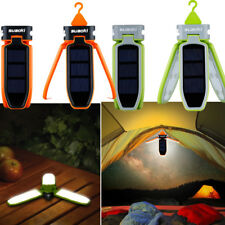 Foldable Solar Panel Camping Lantern Tent Lamp Rechargeable Waterproof LED Light