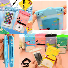 Cute Cartoon Waterproof Underwater Pouch Bag Pack Case Cover For Cell Phone PDA