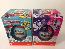 Large Kinder Surprise 100g Egg Limited Edition Boy & Girls With Maxi Toy UK 2017