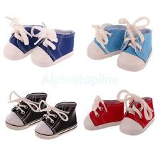 Cute Laceup Canvas Shoes Made for 18'' American Girl Our Generation Doll Clothes
