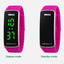 New Lady Student Cool For Boy Girl Outdoor Sport Digital Watch Waterproof UKM22