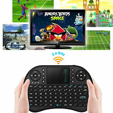 Mini Wireless Keyboard 2.4G with Touchpad Handheld Keyboard for PC Android TV HO