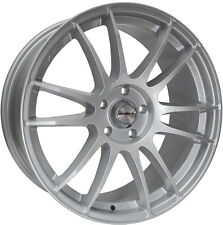 "Alloy Wheels 18"" Calibre Suzuka Silver For Chrysler Cirrus 94-00"