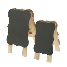Mini Chalkboard Wooden Easels Table Sign