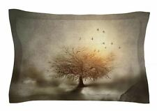 East Urban Home Lone Tree Love IV by Viviana Gonzalez Pillow Sham
