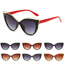 One Womens Fashion Vintage Cat Eye UV400 Sunglasses Eyewear Shades Eye Glasses