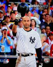 Derek Jeter New York Yankees MLB 2014 Derek Jeter Day Photo RD048 (Select Size)