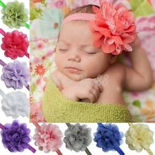 Cute Girl Kid Baby Lace Flower Headband Hair Band Headwear Toddler