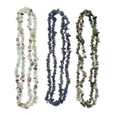 Strand of Natural Gemstone Chips Loose Spacer Beads Jewelry Making Accessories