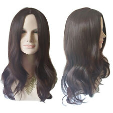 Women Wigs Ladies Long Fashion Full Wig Hair Brown Black Wig Wavy Curly Wigs NEW