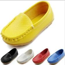 Hot Boy's Flats Boat Girl's Casual Oxfords Baby Loafer Pumps Child Shoes A349