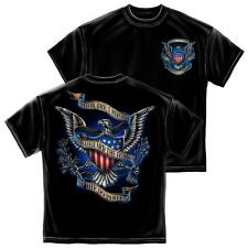 Honor The One Percent Armed Forces Military T-Shirt by Erazor Bits, Black