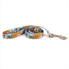 Dog Lead Leash - Yellow Dog Design - Seaside - Made In USA - Choose Size