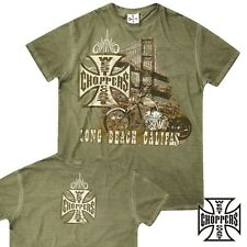 West Coast Choppers T-Shirt Bridge T-Shirt Biker Custom Bike - S M L XL XXL 3XL