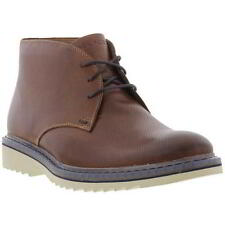 Rockport Jaxson Chukka Boots Mens Leather Ankle Boots Size 7-11