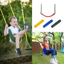 Outdoor Swing Seat Playground Swing Set Accessories Hanger Chain Kids Child New