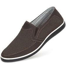 Mens Slip On loafer casual driving Breachable New Soft  cotton moccasin shoes S8