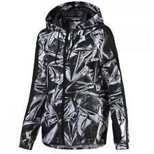 Puma AOP T7 Windrunner Running Womens Jacket Black White 571474 32 EE55