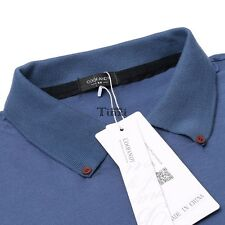 Men's Turn Down Collar Long Sleeve Solid Slim Fit Casual Polo Shirt Tops TXCL01