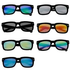 Women Men Outdoor Sport Glasses Fashion Retro Cycling Mirrored Lens Sunglasses