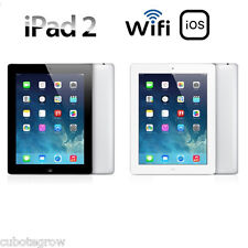 "APPLE iPad 2 16GB/32GB/64GB BLACK/WHITE 9.7"" Tablet PC AAA+ Condition(Wifi Only)"