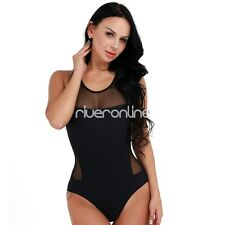 Women's One Piece Push Up Padded Bikini Swimsuit Swimwear Bathing Suit Monokini