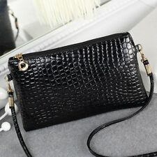 Womens PU Leather Casual Bags Messenger Crossbody Shoulder Handbags Purses Tote