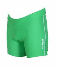 ZIMCO Women's Cycling Biking Cycle Short Ladies Bike Shorts Padded Green