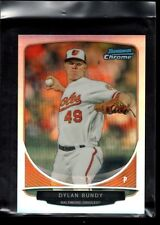 DYLAN BUNDY BALTIMORE ORIOLES MINT ROOKIE REFRACTOR MINI RC 2013 BOWMAN CHROME