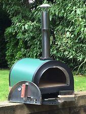 Green Machine (NB) Outdoor Pizza Oven, Wood Fired Oven, Brick Base