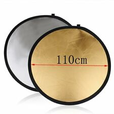 Professional Photo 110cm 43'' 2in1 Light Mulit Collapsible Disc Reflector Board