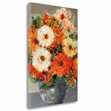 'In Full Bloom' by Leslie Bernsen Painting Print on Wrapped Canvas