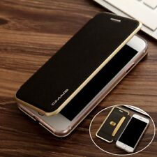 Luxury Flip Leather Wallet Card Slot Magnetic HQ Case Cover For iPhone 7 6S Plus