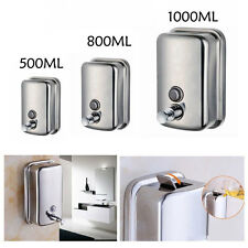 Wall Mounted Hand Soap Dispenser Toilet Shower Gel Shampoo Lotion Conditioner
