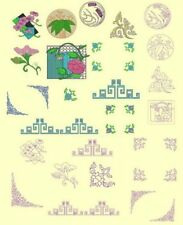 Asian 1 Machine Embroidery CD-50 Designs & Sashiko- By Anemone Embroidery
