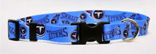 Dog Designer NFL Collar - Yellow Dog - Made In USA - Tennessee Titans