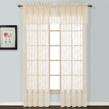 United Curtain Co. Windsor Rod Pocket Single Curtain Panel