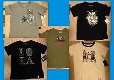 Lucky Brand Boys T-Shirts Pick Skeleton, Bear or Boxer Many Sizes 2T-12 NWT $24