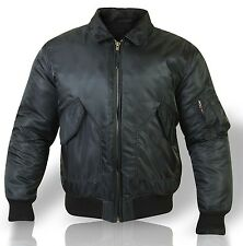 New Flight Bomber Jacket US Pilot jacket Jacket black Jacket Reversible jacket