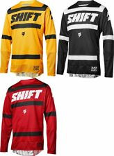 Shift Racing Mens 3lack Black Label Strike MX Jersey